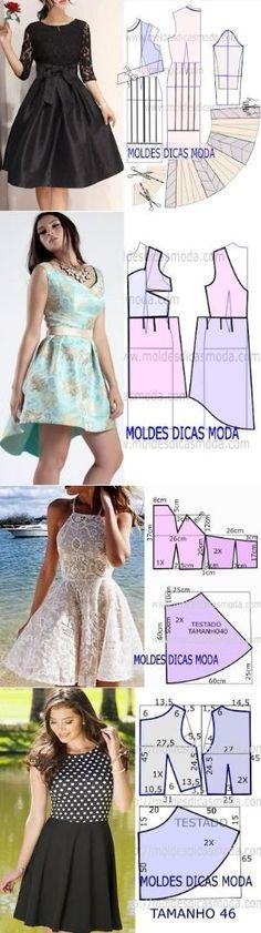 Sewing Dresses Deniz - Women Robes - Ideas of Women Robes - Sewing Dresses Deniz Sewing Dress, Diy Dress, Sewing Clothes, Dress Ideas, Party Dress, Diy Clothing, Clothing Patterns, Dress Patterns, Sewing Patterns