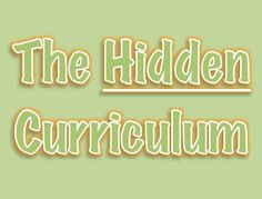 """Discover the four types of students, what makes kids popular, and what makes teachers like students. Teachers and parents can provide explicit instruction to help teach these components of the hidden curriculum-- the unwritten laws that """"everybody knows"""" except some of our students. Learn how to teach the hidden curriculum at A Peach for the Teach"""