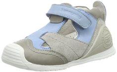 Biomecanics 142134 - Zapatos para bebé de cuero, color azul, talla 23