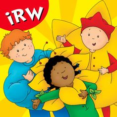 Caillou: My First Play eBook! This interactive ebook helps your little one learn to read!