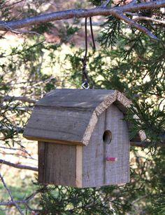 Rustic Barn Wood Birdhouse