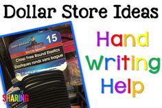 Dollar Store Ideas - Sharing Kindergarten