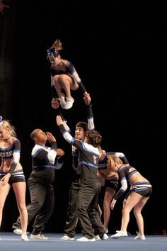World Class Athletics, Senior Coed Level 2. Stunts. #cheer #cheerleader #cheerleading #worldclassathletics
