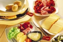 A traditional Raclette grill.  A fun way to spend the evening.