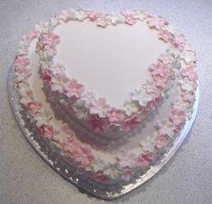 Heart Shaped Wedding Cakes Recipes