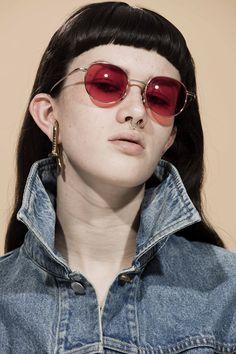 AMBUSH DESIGN HALBSTARKE COLLECTION #09 NOW AT SURRENDER SINGAPORE WWW.SURRENDEROUS.COM #SURRENDERSTORE #SURRENDEROUS #AMBUSHDESIGN Fashion Beauty, Fashion Jewelry, Sunglasses, Eye Drops, Singapore, Campaign, Faces, Design, Random