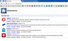 Install manually chrome extensions Browser Extensions, Chrome Extensions, Pop Up Blocker, Computer Network, Internet