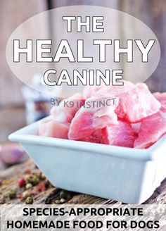 The Healthy Canine eBook is an easy to follow guide to feeding your dog a healthy, wholesome homemade dog food diet that is nutritionally balanced and complete! The Healthy Canine eBook will teach you how to feed a species-appropriate diet of 75% animal protein and 25% vegetables - raw or cooked! You will receive .mobi and .pdf versions of this eBook for direct download following your purchase!