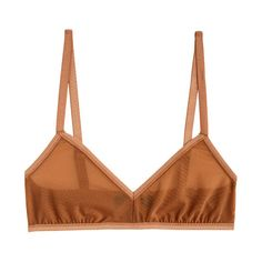 Land of Women Nude Mesh Classic Bra (€81) ❤ liked on Polyvore featuring intimates, bras, lingerie, underwear, lingerie bra, nude bra, mesh bra, pull on bras and slip on bra