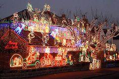 Christmas Lights Hpanwo Tv Holiday Lights Christmas Home Christmas Light Displays Christmas