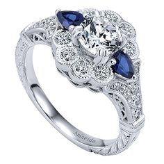 Experts in engagement jewelry, Gabriel NY assist clients in making the best possible choice when it comes to engagement rings