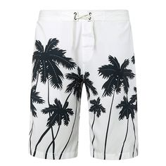 Fashion men beach shorts New 2016 brand boardshort shorts homme quick drying printing coconut trees board beach pants M-2XL #Affiliate