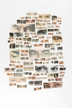 fascination - www. i have always wanted to do a collage of eyes with all my pictures Kunstjournal Inspiration, Art Journal Inspiration, Art Inspo, Collages, Collage Art, Photomontage, Design Art, Game Design, Foto Baby