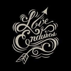 Love Endures by Nicholas D'Amico, via Behance