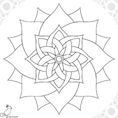 Mandala Art, Mandala Drawing, Mandala Painting, Mandala Pattern, Dot Painting, Mandala Coloring Pages, Colouring Pages, Coloring Books, Free Adult Coloring