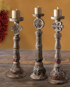Spanish Candle Holders