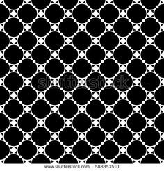 Vector monochrome seamless pattern, subtle geometric texture, illustration of thin mesh, round lattice with nodes. Black & white simple abstract repeat background. Design for decor, digital, prints
