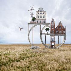 Wolkenkuckucks letzte Tage - fotokunst von Matthias Jung