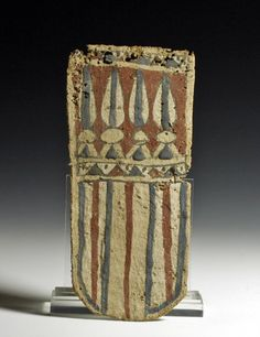 Egyptian Late Dynastic Cartonnage Panel