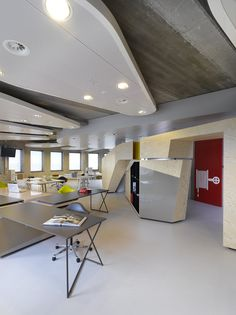 unusual amazing ceiling design for modern office interior