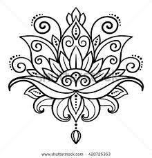 Image result for lotus mandala designs                                                                                                                                                                                 Mais