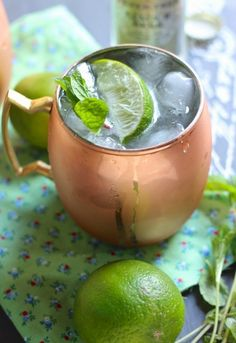 A Moscow Mule | 21 Cocktails You Should Learn To Make In Your Twenties