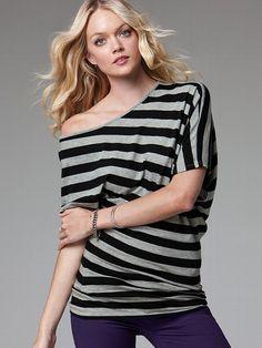 Dream Tees Off-the-shoulder Tunic #VictoriasSecret http://www.victoriassecret.com/sale/clothing/off-the-shoulder-tunic-dream-tees?ProductID=77084=OLS?cm_mmc=pinterest-_-product-_-x-_-x