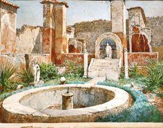 Non semplici acquerelli. I monumenti e le domus di Pompei rivivono nelle tele del pittore e scenografo Luigi Bazzani, che li ritrasse a fine Ottocento così com'erano, appena freschi di scavo. Una riproduzione straordinariamente fedele alle vestigia di un tempo, che ispira il titolo della most