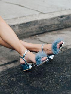 Gioco Fluffy Sandals