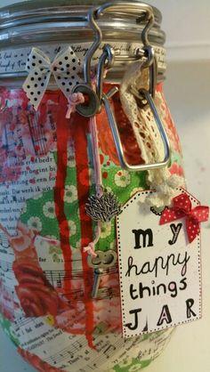 #MariskaMierak #LifeBook2015 Happyness jar