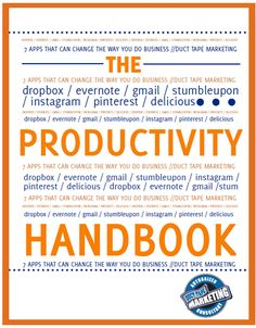 See if you can increase your marketing productivity. Ebook Download: http://www.hubspot.com/the-productivity-handbook/
