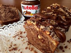 Plumcake all nutella Plum Cake, Cooking Recipes, Healthy Recipes, Healthy Food, Cakes And More, Banana Bread, Cake Recipes, French Toast, Chocolate