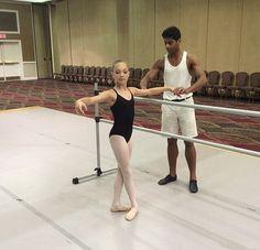 Love this photo! Maddie at Ballet Senimar