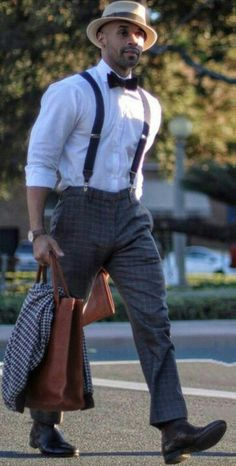 Love this casual style. Sharp Dressed Man, Well Dressed Men, Dress Attire, Men Dress, Modern Mens Fashion, Men Fashion, Gatsby Look, Pinstripe Suit, Dapper Men
