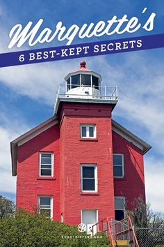 A cozy town located along the beautiful shores of Lake Superior, Marquette MI, offers breathtaking scenery.