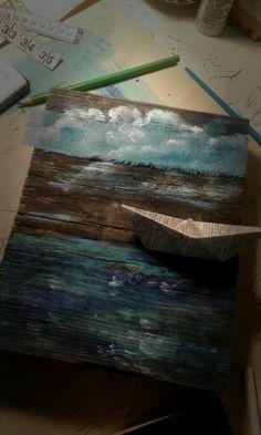 - Oceano - Paper Boat Art Prints