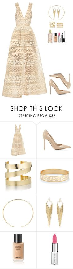 """Hanna Marin Inspired Look"" by rosewoodangel ❤ liked on Polyvore featuring Elie Saab, Gianvito Rossi, Étoile Isabel Marant, Stella & Dot, MIANSAI, Jules Smith, Yves Saint Laurent, Givenchy and MAC Cosmetics"