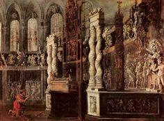 Monsu Desiderio David in the Temple