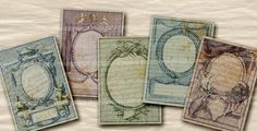 Shabby Chic Renaissance Engravings for DIY by memoriesemporium, $4.40