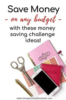 Fifteen 52 Week Money Saving Challenges (something for every budget!) Check out these 52 week money saving challenges! No matter your budget, these weekly, biweekly, or monthly savings plans will work! Printable template too! Weekly Savings Plan, 52 Week Savings, 52 Week Money Challenge, Savings Challenge, Ways To Save Money, Money Saving Tips, Money Tips, Money Budget, 52 Week Saving Plan