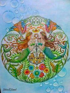Inspirational Coloring Pages by Silvia Cassol  #inspiração #coloringbooks…