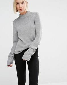 Cheap Monday jumper with oversize sleeves