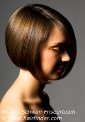 Short bob cut with volume