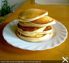American pancake - Rezepte - For Life Food Crepe Recipes, Brunch Recipes, Breakfast Recipes, Chicken Lunch Recipes, Best Pancake Recipe, Incredible Recipes, Raw Vegan Recipes, Food Humor, Kids Meals