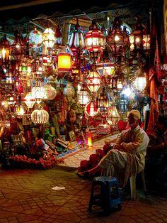 Souk, Marrakech, Maroc (2013)