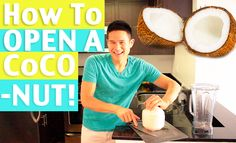 How to Open a COCONUT!  http://youtu.be/TJbWdbAejq4