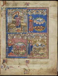 Picture Bible, MS M.638 fol. 1r - Images from Medieval and Renaissance Manuscripts - The Morgan Library & Museum - 86 pages available