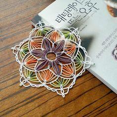 jini8803's photo on Instagram タティングレース tattinglace Crochet Motif, Crochet Doilies, Knit Crochet, Needle Tatting, Tatting Lace, Needle Lace, Tatting Jewelry, Lace Jewelry, Tatting Tutorial