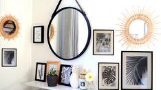 mur de cadre cadres noir et blanc