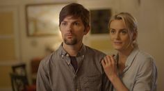A new comedy starring Adam Scott and Taylor Schilling tests the boundaries of good taste for both the two couples at its center and the film itself.